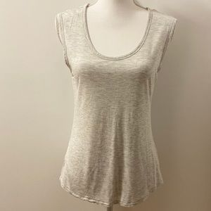 Old Navy Gray Muscle Tank Top-Small
